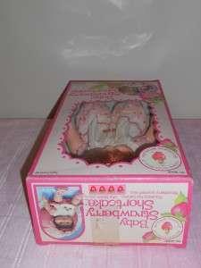 Vintage Baby Strawberry Shortcake Blowkiss Doll 1982 Kenner MIB