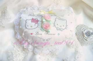 Sanrio Hello Kitty & Dear Daniel Heart Shape Wedding Ring Bearer