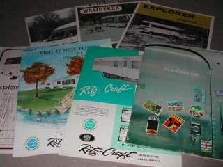 42   Camper, Motorhome, Travel Trailer brochures