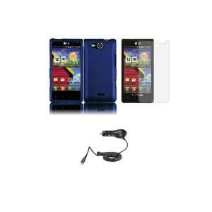 LG Lucid (Verizon) Premium Combo Pack   Purple Hard Shield