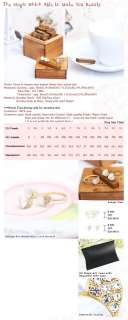 S024 925 Sterling Silver Moter Of Pearl Heart earrings Gold Ring SIZE
