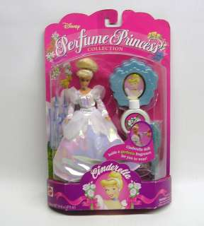 Disney Perfume Princess Cinderella Doll by Mattel # 12746 074299127465