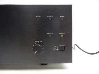 TOA ELECTRONICS P 924MK2 240 WATT 1CH PROFESSIONAL AUDIO POWER AMP