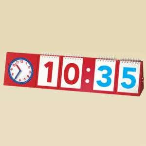 TELLING TIME MODULAR FLIP CHART EI 3242 BRAND NEW