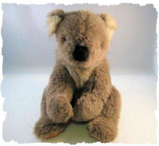 Vintage 1986 Gund Koala Bear Stuffed Plush NICE