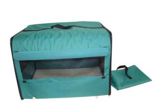 Dog Cat Pet Bed House Soft Carrier Crate Cage w/Case ST 814836016384