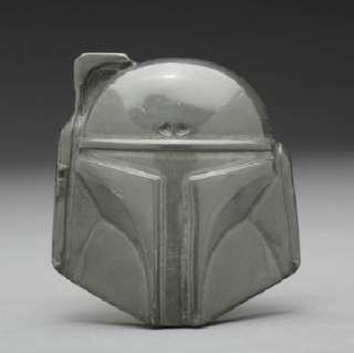 Star Wars Boba Fett Helmet Large Metal 3 D Belt Buckle