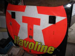 MONTOYA NASCAR RACE CAR HOOD HAVOLINE AUTHENTIC PIECE RACING HISTORY