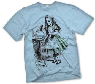 Vintage Alice in Wonderland 1865 original book Illustration T Shirt