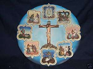 Life of Jesus Christ wall plaque / decorative plate NEW