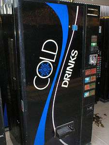 Dixie Narco DN501 Coke Soda Vending Machine
