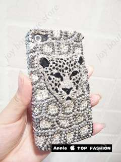 design with rhinestone Crystal bling case cover for Apple iphone 4 4S