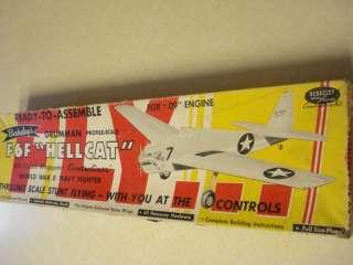 BERKELEY * GRUMMAN F6F HELLCAT * C/L MODEL AIRPLANE KIT**