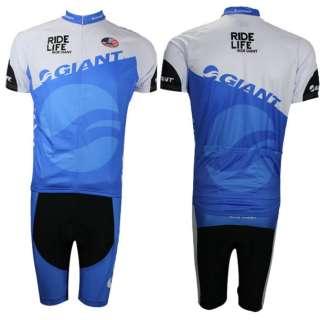 2012Giant Tham Bicycle Cycling Bike Wear Jersey Shirt BIBS SHORTS Suit