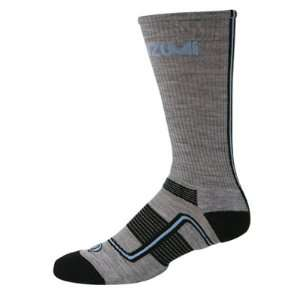 Wool Cycling Socks   Charcoal/Blue Sky   9142 779