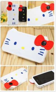 Cute Big Face Hello Kitty Skin Case For Apple iPhone 4 4G 4S