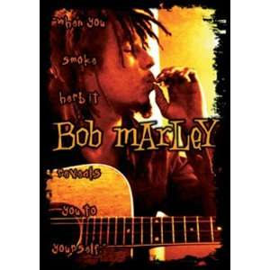 Bob Marley   Smoke Herb   Sticker / Decal: Automotive