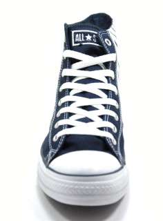 Converse All Star Chuck Taylor Athletics Navy White Strip HI 1U526 HI