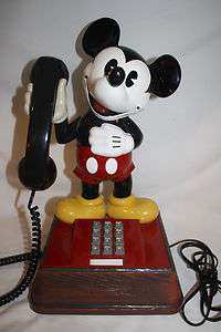 Disney The Mickey Mouse Phone Telecommunications Corp Touch Tone