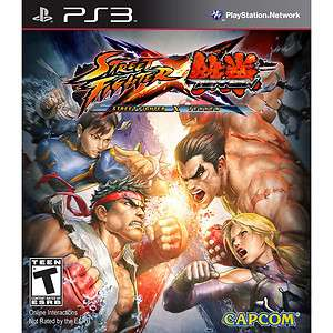 NEW* PS3 STREET FIGHTER X TEKKEN *SEALED*