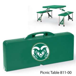 Portable Picnic Table NCAA College Logo 60 Teams New AM