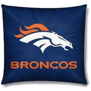 Denver Broncos NFL Team Toss Pillow (18x18) Sports