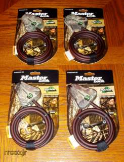MASTER LOCK PYTHON CABLE FOR MOULTRIE i40 i45 BOX 4 NEW