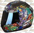 Suomy Vandal Tattoo Flash Full Face Motorcycle Helmet Large