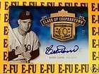 2011 Legends Hall Fame Bob Bobby Doerr PSA NM 8 AUTO Historic