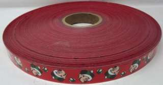 MICKEY MOUSE Christmas Ribbon for wrapping gifts HUGE Roll Bolt