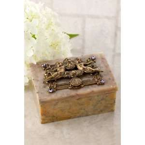 Angels of Love Soapstone Box: Everything Else