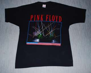 VINTAGE PINK FLOYD MOMENTARY LAPSE TOUR T SHIRT 1987 XL