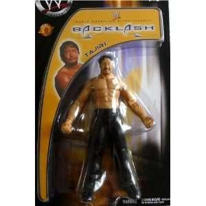 TAJIRI   WWE Wrestling Exclusive Backlash Toy Figure by