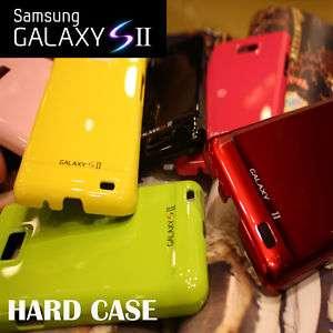 NEW SAMSUNG GALAXY S2 i9100 LOGO HARD CASE COVER