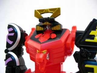 Plex SHINKEN OH Samurai Sentai Shinkenger Mini Robot 1 2 3 Set