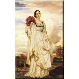 The Countess Brownlow 18x30 Streched Canvas Art by Leighton, Lord