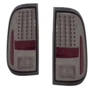 2008 2009 Ford F250/Super Duty KS LED Smoke Tail Lights