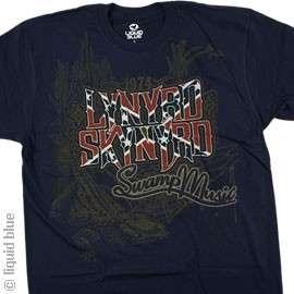 New LYNYRD SKYNYRD Swamp Music T Shirt