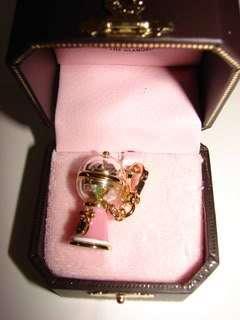 NeW JUICY COUTURE Pink Bubble GuM Charm 4 Bracelet