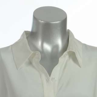 Sutton Studio Womens LongSleeve Silk Tunic Blouse Shirt