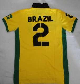 New Ralph Lauren Mens Big Pony Polo Shirt Brazil Flag No.2