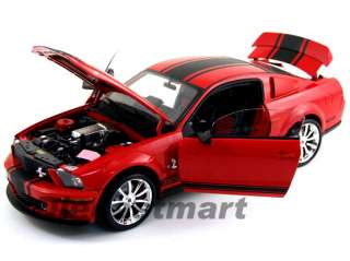 SHELBY COLLECTIBLES 118 2008 SUPER SNAKE GT500 RED
