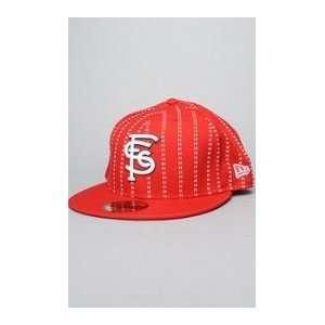 Supra The SF Era Cap in Red, Hats for Men 7 1/2