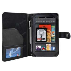 PREMIUM Protective Folio Carry Case Hard Cover for  Kindle Fire