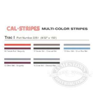 Cal Stripes Trac I Two Color Striping Tape 2251 03 Silver
