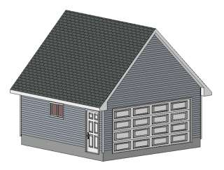5 x 3 garage plans and material list details for Garage material list