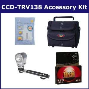 Sony CCD TRV138 Camcorder Accessory Kit includes HI8TAPE Tape/ Media