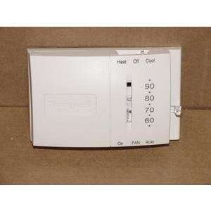 T8034C1572 THERMOSTAT WITH SUBBASE HEAT/COOL 24 VOLT