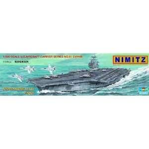 TRUMPETER SCALE MODELS   1/500 USS Nimitz CVN68 Aircraft
