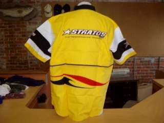 Stratos ProTeam Fishing Shirt,Yellow,Black,White (XXXL)